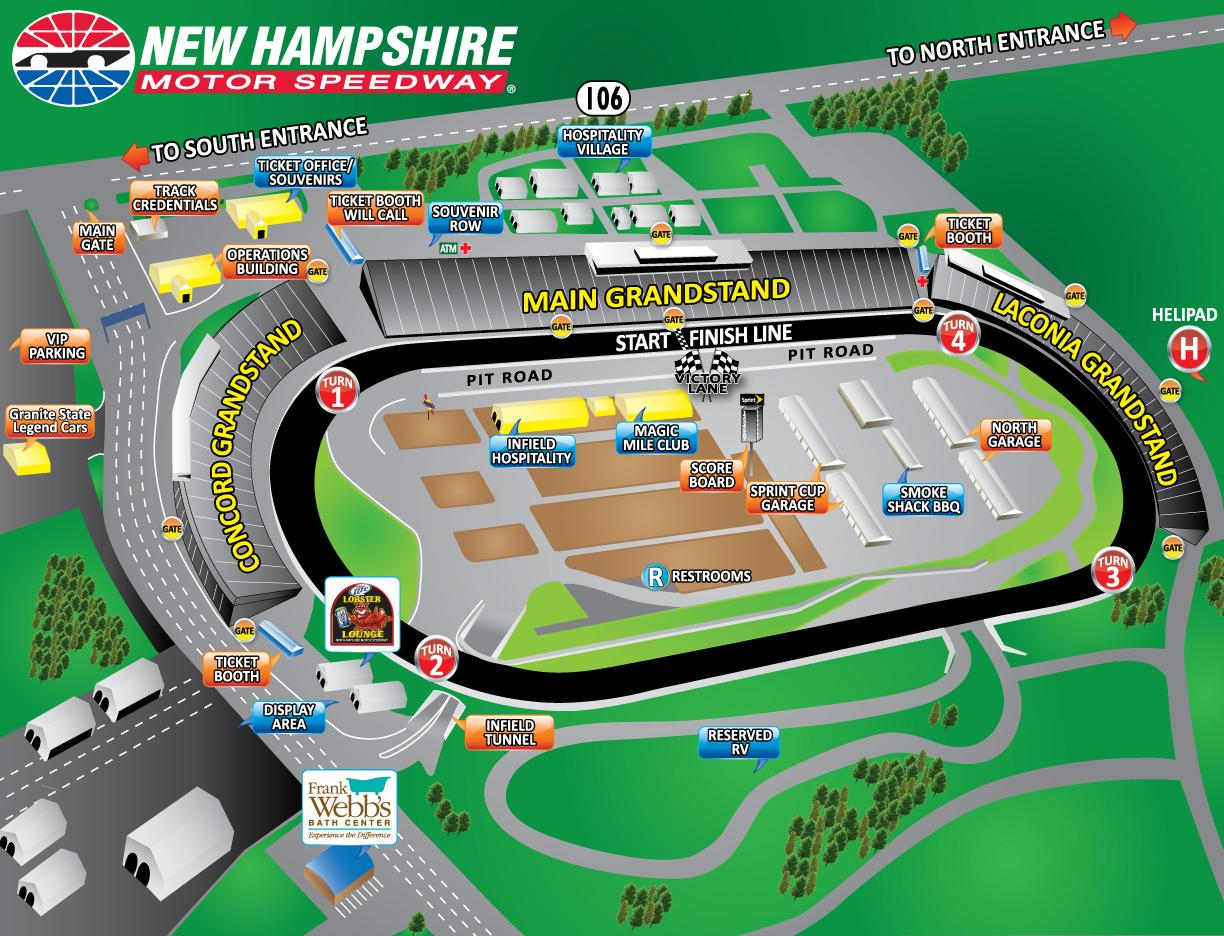 New Hampshire Motor Speedway - Loudon - ticketmaster.com