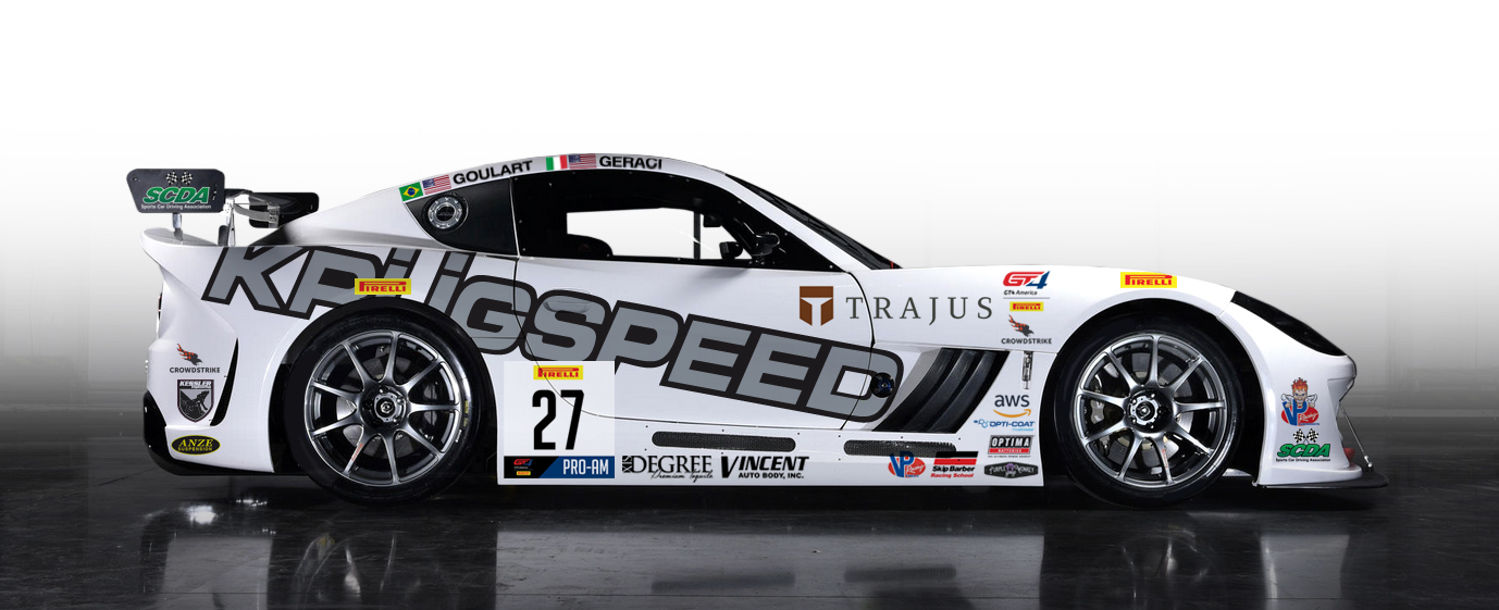 KRUGSPEED Racing Announces Pirelli GT4 America SprintX Entry for 2019