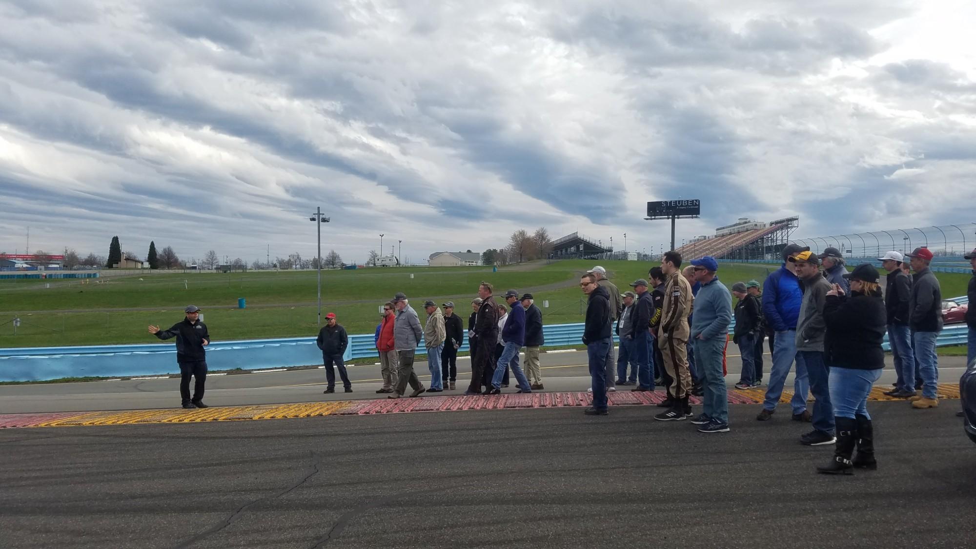 Watkins Glen Track Walk with Elivan Goulart