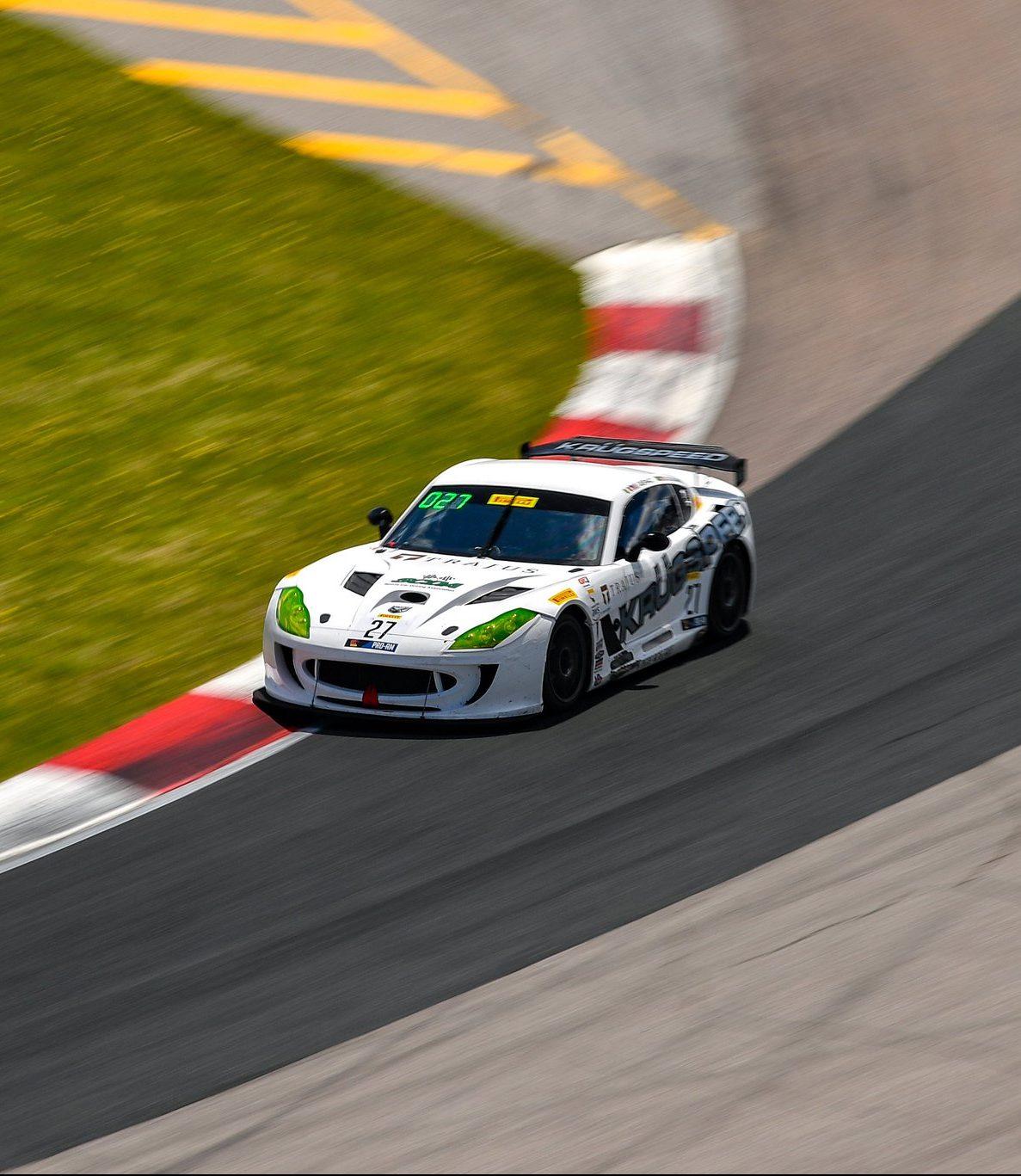 SCDA's Elivan Goulart wins both World Challenge GT-4East races at Canadian Tire Motorsports Park