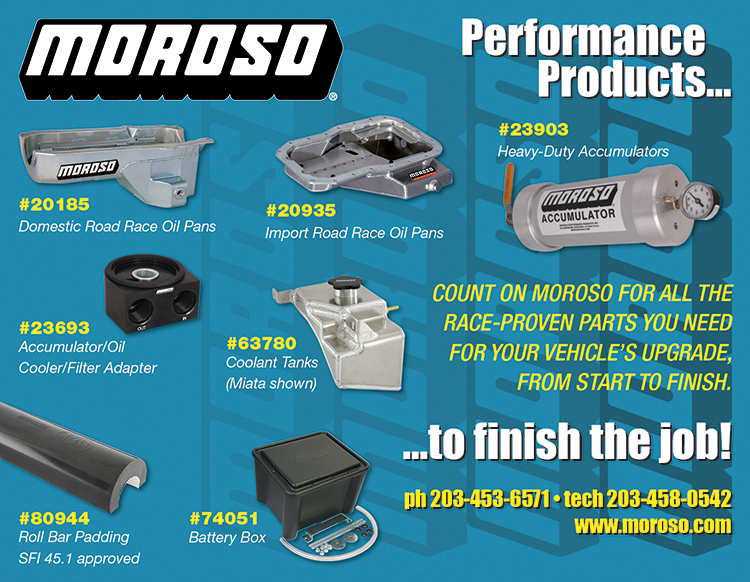 Moroso Performance Products Becomes 2020 SCDA Associate Partner
